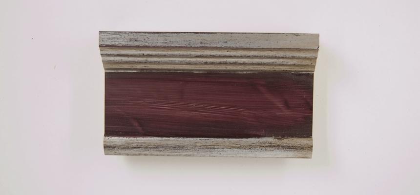 H4E32S Zilver - bruin handgegrondeerd